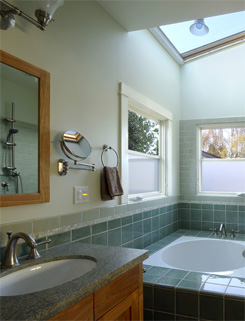 bathroom remodel in berkeley by classic construction
